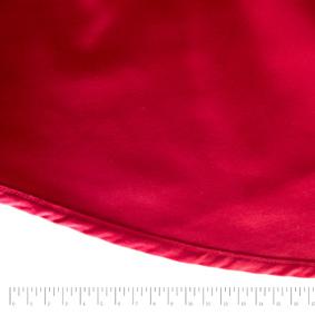 Toalha Redonda Brim Vermelha 2,90