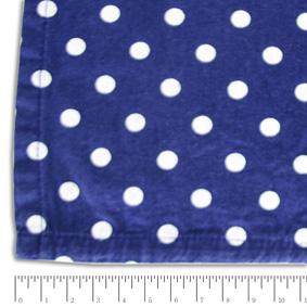 Toalha Quadrada Poás Azul Marinho e Branca 1,54X1,54