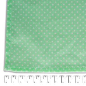 Toalha Quadrada Poás Verde e Branca 150x150