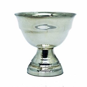 Taça de prata Lisa PP