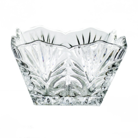 Petisqueira Quadrada Cristal 12x12x7cm
