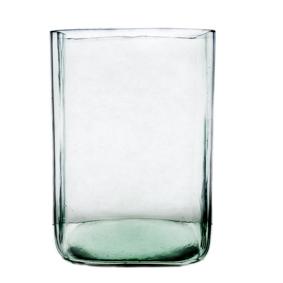 Vaso de Vidro Quadrado Tubo