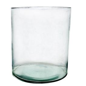 Vaso de Vidro Redondo Tubo