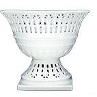 Fruteira de Porcelana Oval Provençal 23x18x19