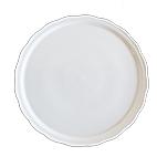 Prato de Bolo de Porcelana Redondo Ondulado 32x2