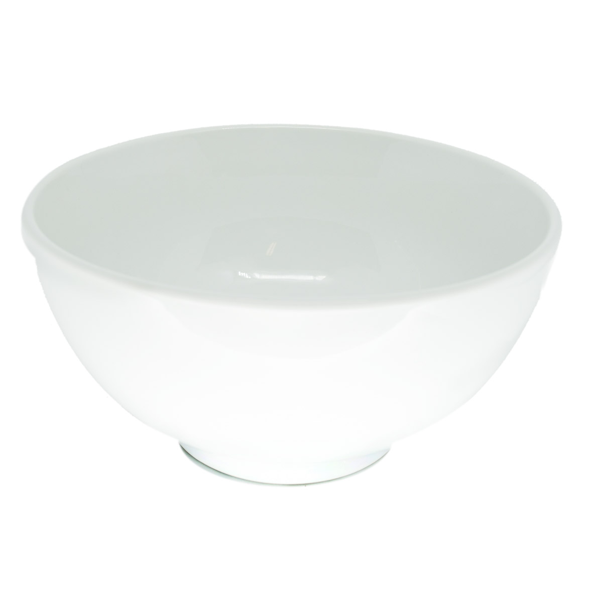 Travessa de Porcelana Redonda Bowl s/Borda 25x13,5