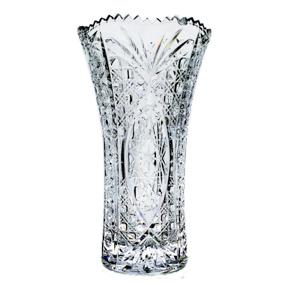 Vaso Cristal Trabalhado com Borda Dentada 2,1L