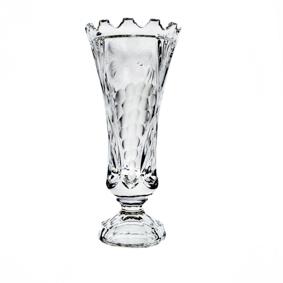 Vaso Cristal Trabalhado com Uvas 600ml
