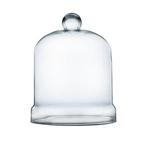Cúpula de Vidro para Porta Cupcake 14cm