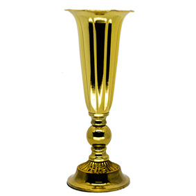 Vaso Dourado Alto