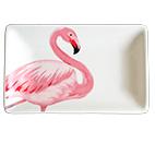 Pratinho de Cerâmica Flamingo G