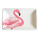 Pratinho de Cerâmica Flamingo M