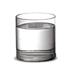 Vaso de Vidro Cilíndrico P