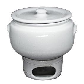 Rechaud Ceramica Branco G