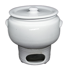 Rechaud Ceramica Branco P 1,5L